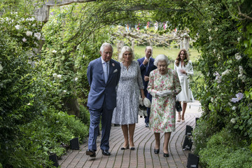 Prince William Camilla Parker Bowles 2021 G7 Summit - Day One