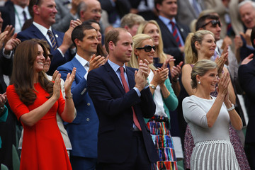 Prince William Countess of Wessex Day Nine: The Championships - Wimbledon 2015