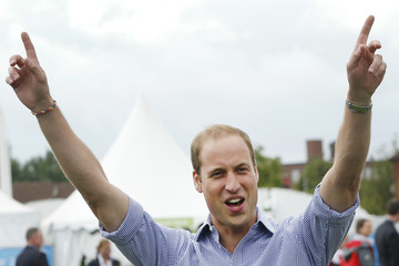 Prince William Arrivals at the 20th Commonwealth Games