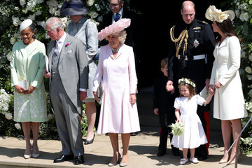 Prince William Prince Charles Prince Harry Marries Ms. Meghan Markle - Procession
