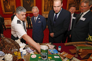 Prince William Prince Charles Princes Charles and Prince William Host a Conference