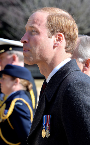 Prince William Prince William, Duke of Cambridge stands in silence at the Hodogaya Commonwealth War Graves Cemetery in Yokohama just outside the capital city of Tokyo on February 27, 2015 in Tokyo, Japan. The Duke of Cambridge is visiting Japan from February 26th to March 1st 2015.