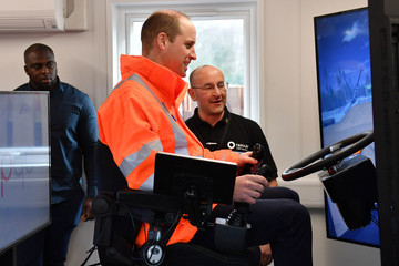Prince William The Duke Of Cambridge Visits Nottinghamshire