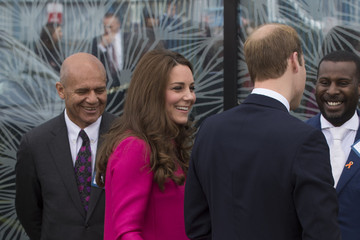Prince William The Duke and Duchess Of Cambridge Support Development Opportunities For Young People In South London