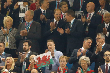 Prince William Wales v Fiji - Group A: Rugby World Cup 2015