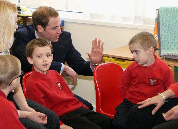 Prince William Visits Lincolnshire