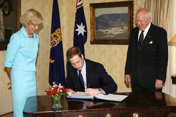 Quentin Bryce Michael Bryce Prince William Visits New Zealand - Day 3