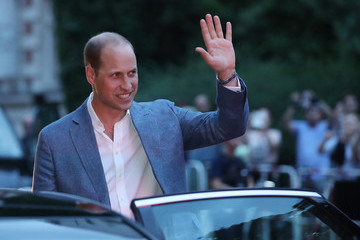 Prince William The Duke and Duchess of Cambridge Visit Germany - Day 2