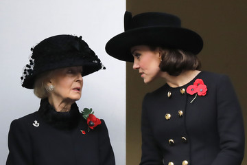 Princess Alexandra The Royal Family Lay Wreaths at the Cenotaph on Remembrance Sunday