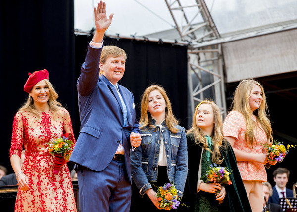 The Dutch Royal Family Attend King's Day In Groningen