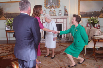 Princess Anne Private Audiences With The Queen 2019