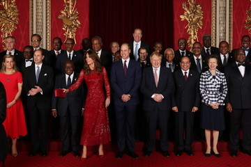 Princess Anne Prince Edward The Duke And Duchess Of Cambridge Host A Reception To Mark The UK-Africa Investment Summit