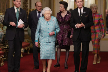 Princess Anne The Queen Hosts A Reception To Showcase The Queen's Commonwealth Canopy