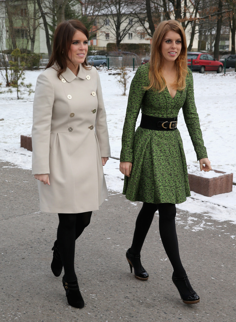 Princess Eugenie Photos Princess Beatrice And Princess