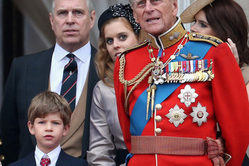 Princess Beatrice Windsor Trooping The Colour