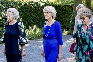 Princess Beatrix Funerals Of Princess Christina Of The Netherlands At Noordeinde Palace In Amsterdam