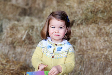 Princess Charlotte Princess Charlotte - Official Photograph Released