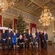 Princess Claire Belgian Royal Family Attends Christmas Concert At Royal Palace In Brussels