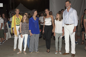 Princess Elena Queen Letizia of Spain Spanish Royals Attends Ara Malikian Concert