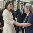 Princess Eugenie The Duke Of York Visits The Royal National Orthopaedic Hospital