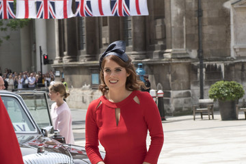 Princess Eugenie Guildhall Lunch Following The National Service Of Thanksgiving To Celebrate The Queen's 90th Birthday