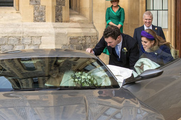 Princess Eugenie Princess Beatrice Princess Eugenie Of York Marries Mr. Jack Brooksbank