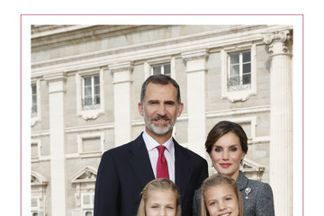 Princess Leonor Spanish Royals Christmas Cards 2015