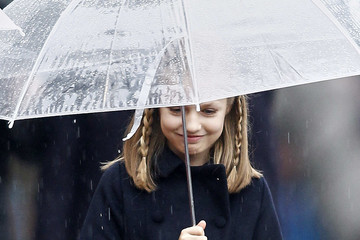 Princess Leonor Spanish Royals Attend the National Day Military Parade