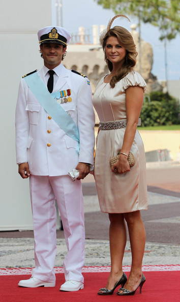Princess Madeleine Prince Carl-Philip of Sweden and Princess Madeleine of Sweden attend the religious ceremony of the Royal Wedding of Prince Albert II of Monaco to Princess Charlene of Monaco in the main courtyard at the Prince's Palace on July 2, 2011 in Monaco. The Roman-Catholic ceremony follows the civil wedding which was held in the Throne Room of the Prince's Palace of Monaco on July 1. With her marriage to the head of state of the Principality of Monaco, Charlene Wittstock has become Princess consort of Monaco and gains the title, Princess Charlene of Monaco. Celebrations including concerts and firework displays are being held across several days, attended by a guest list of global celebrities and heads of state.