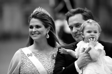 Princess Madeleine Ceremony And Arrivals: Wedding of Prince Carl Philip of Sweden and Sofia Hellqvist