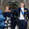 Princess Margriet Dutch Royal Family Attends Dinner Gala For Corps Diplomatique At The Royal Palace In Amsterdam