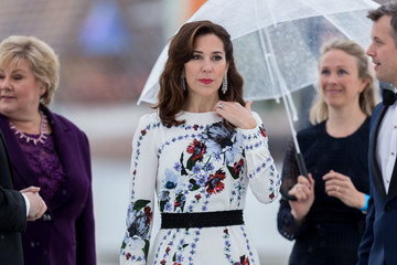Princess Marie The King and Queen of Norway Celebrate Their 80th Birthdays with a Banquet at the Opera House