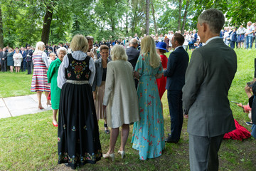 Princess Martha Louise Norwegian Queen 80th Birthday Celebrations