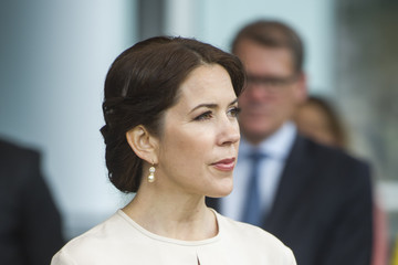 Princess Mary Crown Prince Frederik and Crown Princess Mary of Denmark Visit Germany