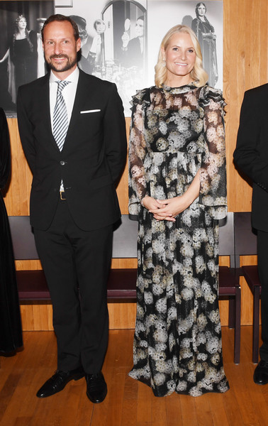 Crown Princess Mette Marit Presents The Nordic Council Literature Prize 2018 [crown princess,mette marit,mette marit presents the nordic council literature prize,haakon,nordic council literature prize,suit,event,fashion,formal wear,tuxedo,style,norwegian,oslo,opera house]