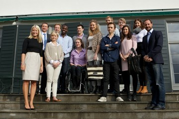 Sondre Lerche Princess Mette-Marit of Norway Attends Opening of Global Shapers Oslo