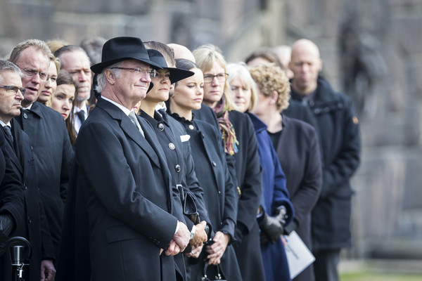Official Ceremony For Victims Of Attacks in Stockholm