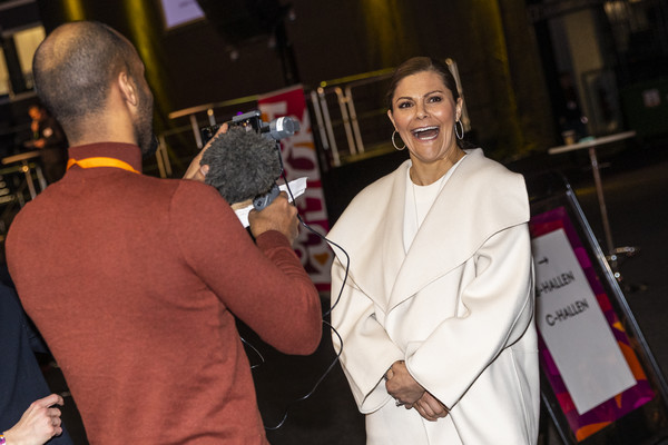 Crown Princess Victoria Of Sweden Attends Folk and Culture 2020