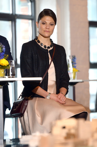Princess Victoria - Crown Princess Victoria And Prince Daniel Of Sweden Visit Hamburg