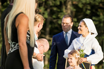 Princess Victoria The Crown Princess Victoria of Sweden's 40th Birthday Celebrations in Borgholm