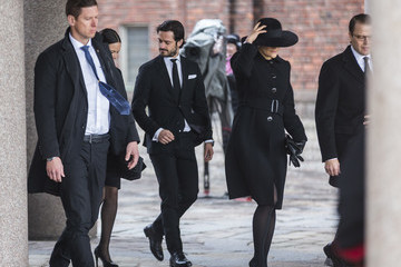 Princess Victoria Official Ceremony For Victims Of Attacks in Stockholm