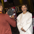 Princess Victoria Crown Princess Victoria Of Sweden Attends Folk and Culture 2020