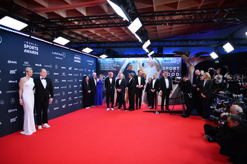 Princess of Monaco Red Carpet - 2018 Laureus World Sports Awards - Monaco