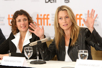 """Rebecca Miller Robin Wright """"The Private Lives Of Pippa Lee"""" Press Conference - TIFF 2009"""