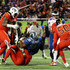 Mike Tolbert Photos - Mike Tolbert #35 of the NFC is tackled in the first half against the AFC during the NFL Pro Bowl at the Orlando Citrus Bowl on January 29, 2017 in Orlando, Florida. - Pro Bowl