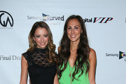 Actress Taryn Southern (L) and Julia Price attend the 'Producers Guild Digital VIP Event' held at Soho House on June 6, 2014 in West Hollywood, California.