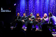 Jesse Collins, Raj Kapoor, David Wild, Chantel Sausedo and Ken Ehrlich speak with Scott Goldman at Producing The GRAMMY Awards: the Team That Makes It Happen at the GRAMMY Museum on January 13, 2020 in Los Angeles, California.