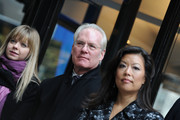 Project Runway judge Tim Gunn and CEO and President of Lifetime Networks Andrea Wong attend the Project Runway Avenue temporary street renaming at 39th Street and Seventh Avenue on January 13, 2010 in New York City.