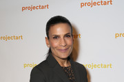 """Andrea Fiuczynski attends ProjectArt """"My Kid Could Do That"""" Los Angeles Benefit and Exhibition at The Underground Museum on April 6, 2018 in Los Angeles, California."""