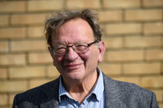 Green Party prospective parliamentary candidate, Larry Sanders, who is the brother of former U.S Democrat presidential nominee Bernie Sanders, poses for a photograph as he canvasses ahead of the Witney by-election on October 13, 2016 in Witney, England. The seat was vacated by former Prime Minister David Cameron when he stepped down as an MP in September this year, and campaigning has begun by all parties for the now-vacant seat with the by-election due to take place on October 20.